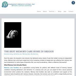 The Best Memory Care Home in Oregon - Harmony Orenco Living