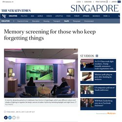 Memory screening for those who keep forgetting things, Health News