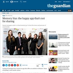 Memory Star: the happy app that's not for sharing