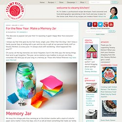 Memory Jar and other ideas