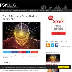 The 10 Memory Tricks Backed By Science