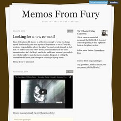 Memos From Fury