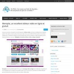 Memplai, un excellent éditeur vidéo en ligne et gratuit