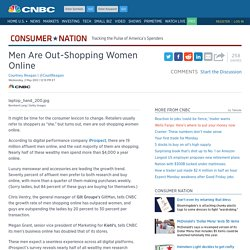 Men Are Out-Shopping Women Online