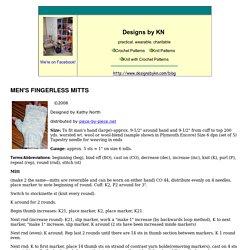 Men's Fingerless Mitts