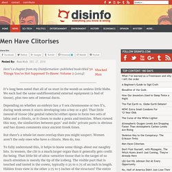 Men Have Clitorises