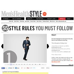 Men's Health Style Guide