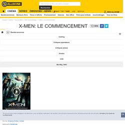 X-Men: Le Commencement - film 2011