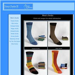 Men's Socks by Gina Karin