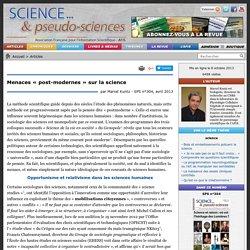 Menaces « post-modernes » sur la science