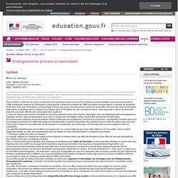 Mise en réseau - MENE1102785C - Ministère de l'éducation nationale