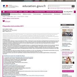 MENE1111098C - Ministère de l'éducation nationale