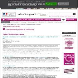 TEP Bulletin officiel n°2011