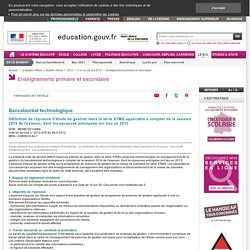 Sciences de Gestion BO