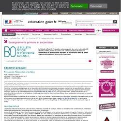 Education prioiritaire_Pilotage_Circulaire 03-05-2017