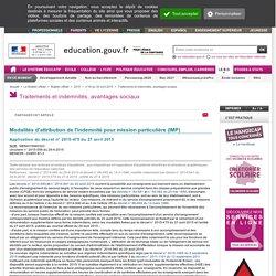 IMP Modalités des attributions