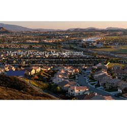 Menifee Property Management - Hawes Realty and Management