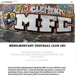 Ménilmontant Football Club 1871