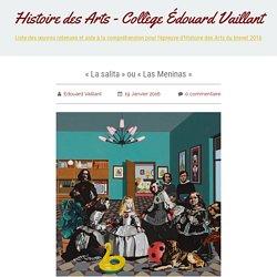 « La salita » ou « Las Meninas » - Histoire des Arts - Collège Édouard Vaillant