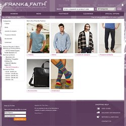 Mens - Frank and Faith