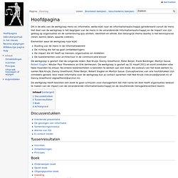 Hoofdpagina - Mens en Informatie