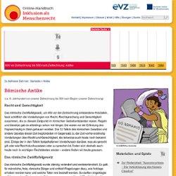 Online-Handbuch: Inklusion als Menschenrecht: 800 vor Zeitrechnung bis 500 nach Zeitrechnung: Antike