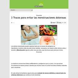 3 Trucos para evitar las menstruaciones dolorosas