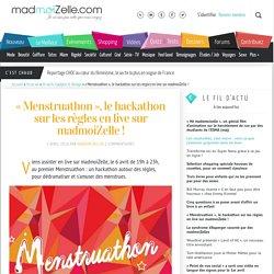 «Menstruathon », le hackathon sur les règles en live sur madmoiZelle!
