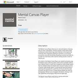 Mental Canvas Player