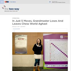 'Has She Gone Mental?' A Queen's Gambit Leaves Chess World Baffled
