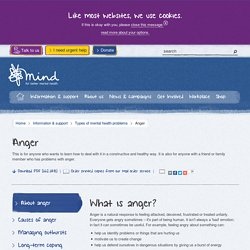 Mind, the mental health charity - help for mental health problems