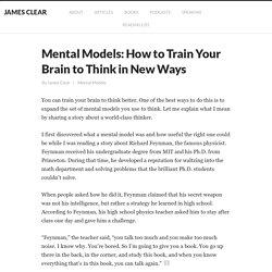 Mental Models: How Intelligent People Solve Unsolvable Problems