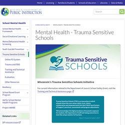 Mental Health - Trauma Sensitive Schools