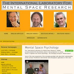 Mental Space Psychology