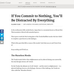 "Mental Toughness and the ""Marathon Monks"""