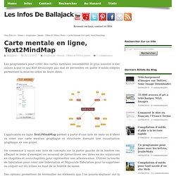 Carte mentale en ligne, Text2MindMap