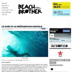 Le surf et la préparation mentale