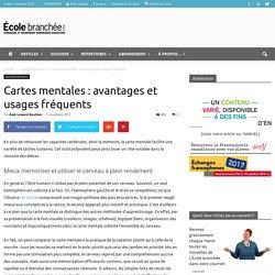 Cartes mentales : avantages et usages fréquents - École branchée