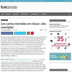 Les cartes mentales en classe : des exemples - École branchée