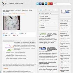 Top 5 de mapas mentales gratuitos para docentes