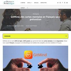 GitMind, des cartes mentales en français sans prétention - OutilsNum