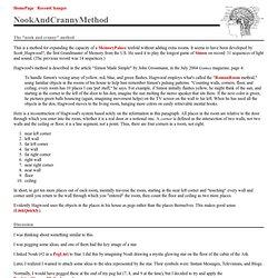 Nook And Cranny Method