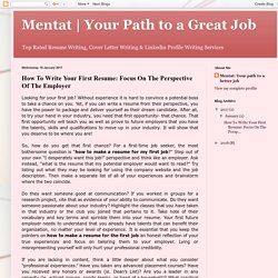 Your Path to a Great Job