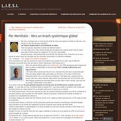 Par Menthalo – Vers un krach systémique global