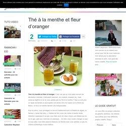 Thé à la menthe et fleur d'oranger - Jasmine and Co