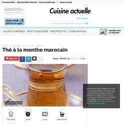 Thé à la menthe marocain, facile et pas cher