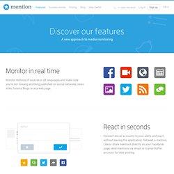 Real-time media monitoring application