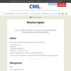 Le site de la CNIL 2 licences CC