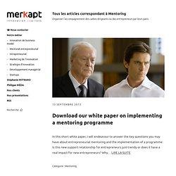 Mentorat et Parrainage - www.merkapt.com (HTTP)