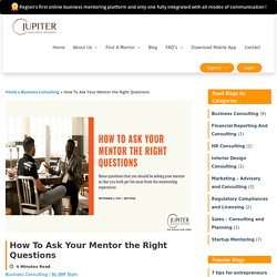 how to use business mentoring programs in your entrepreneurial journey
